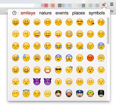 schedugram emoji support