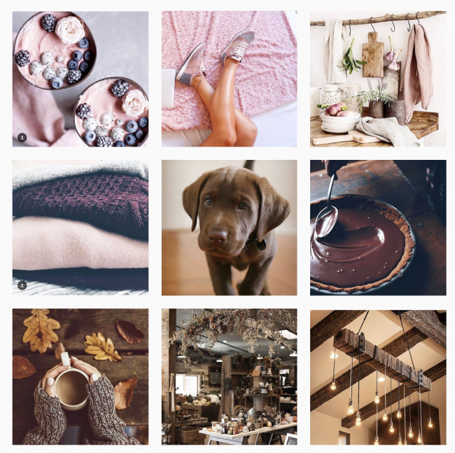 instagram aesthetic