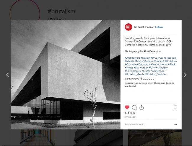 Instagram News - Brutalism