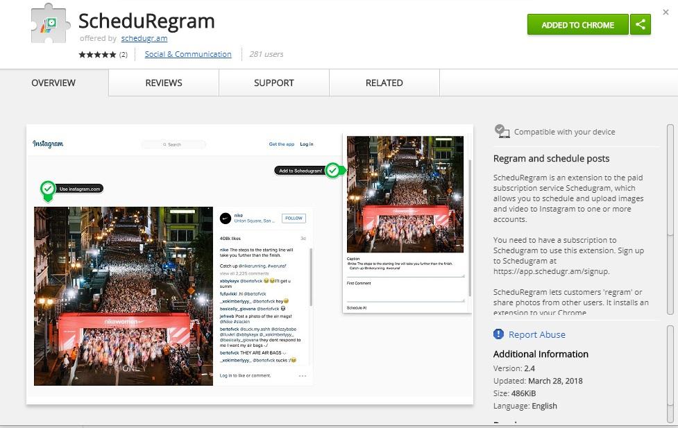non-visual-brands-killing-it-on-instagram-using-schedugram-regram-1