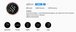 Aesthetic Instagram Accounts: Best Agency Instagram Accounts - ST8MNT - Sked Social