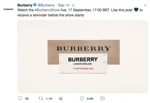 Burberry Social Media Strategy - Sked