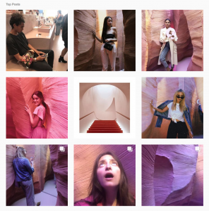 The 8 Best Campaigns of Social Media 2018 - Glossier Canyon - Sked Social