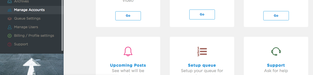 How to add your first Instagram or Facebook account on Sked
