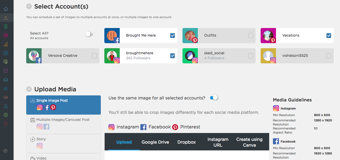 Uploading content to Sked Social: a step-by-step guide – Sked Social
