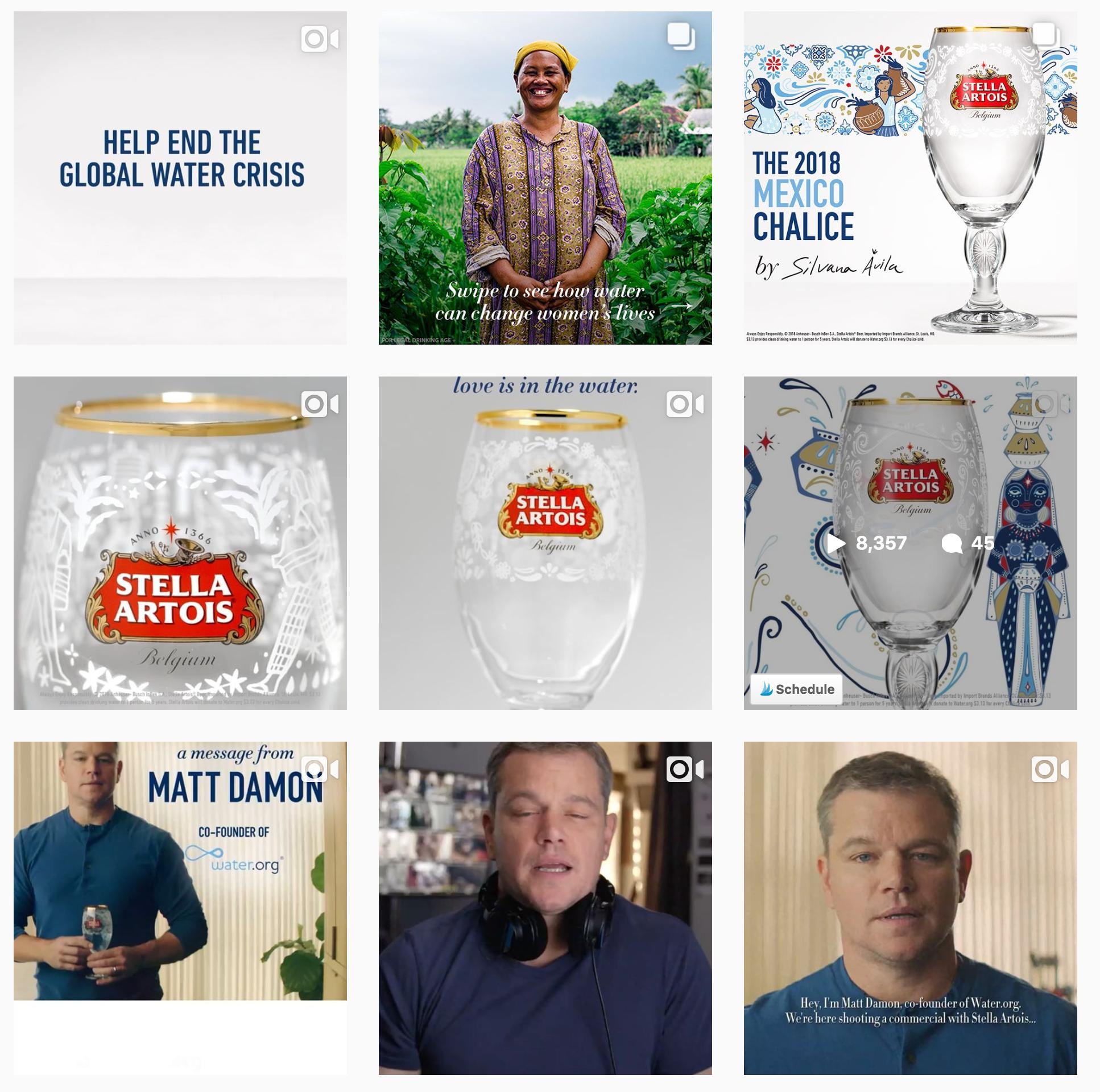 Best Instagram Campaigns 2018 - Stella Artois - Sked Social
