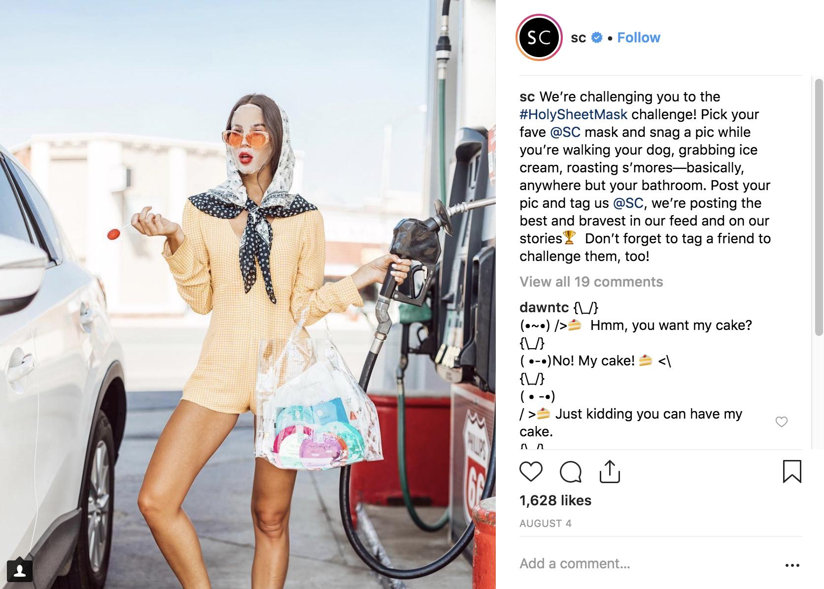 Best Instagram Campaigns 2018 - Sephora - Sked Social
