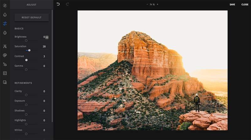 sked social photo editor