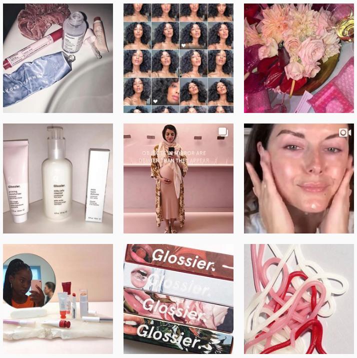 Glossier Marketing - Sked Social