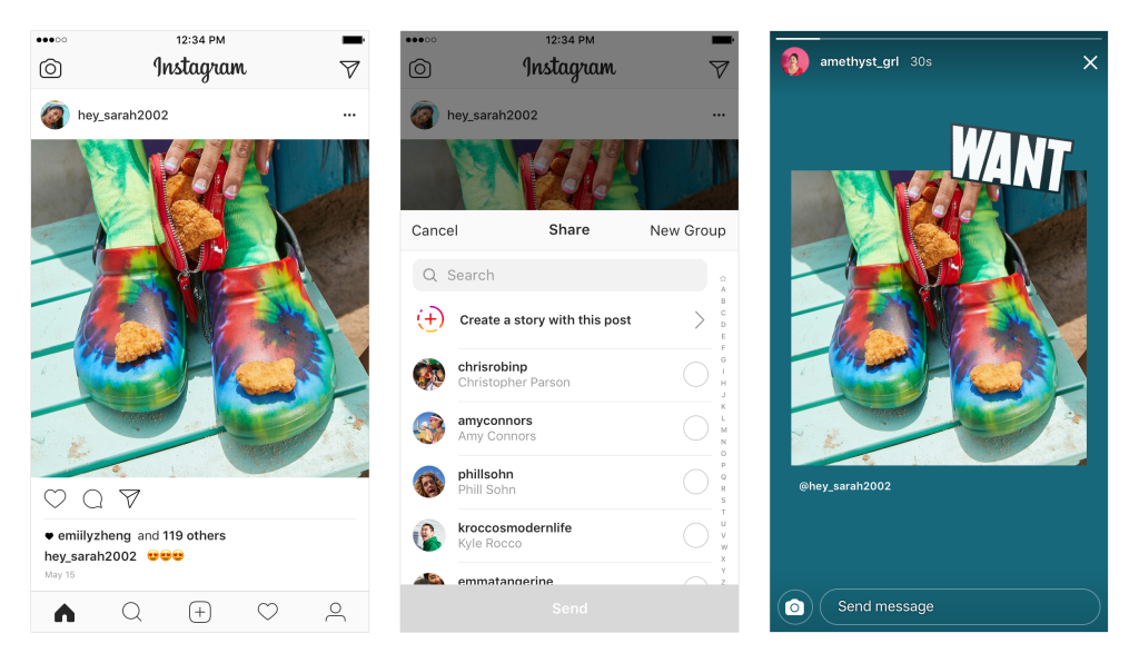Instagram Updates - Share Feed Posts - Sked Social