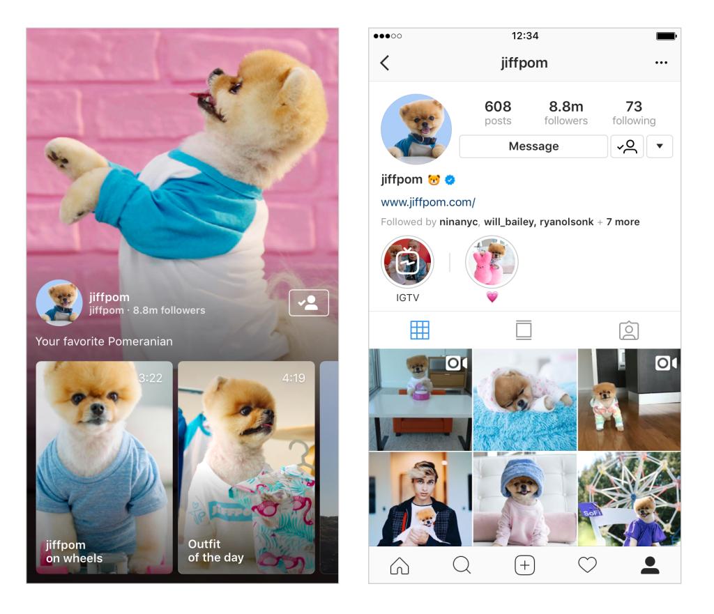 Instagram Updates - IGTV - Sked Social
