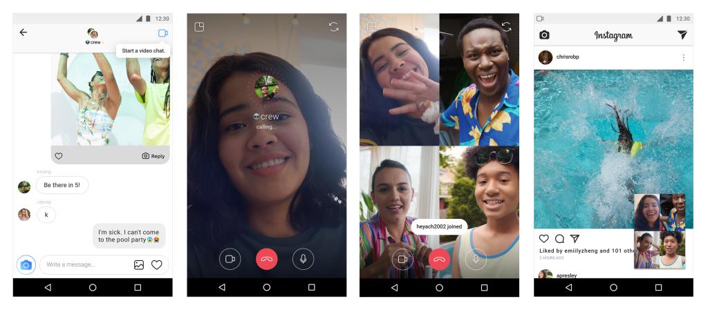 Instagram Updates - Video Chat - Sked Social
