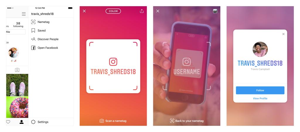 Instagram Updates - Nametag - Sked Social