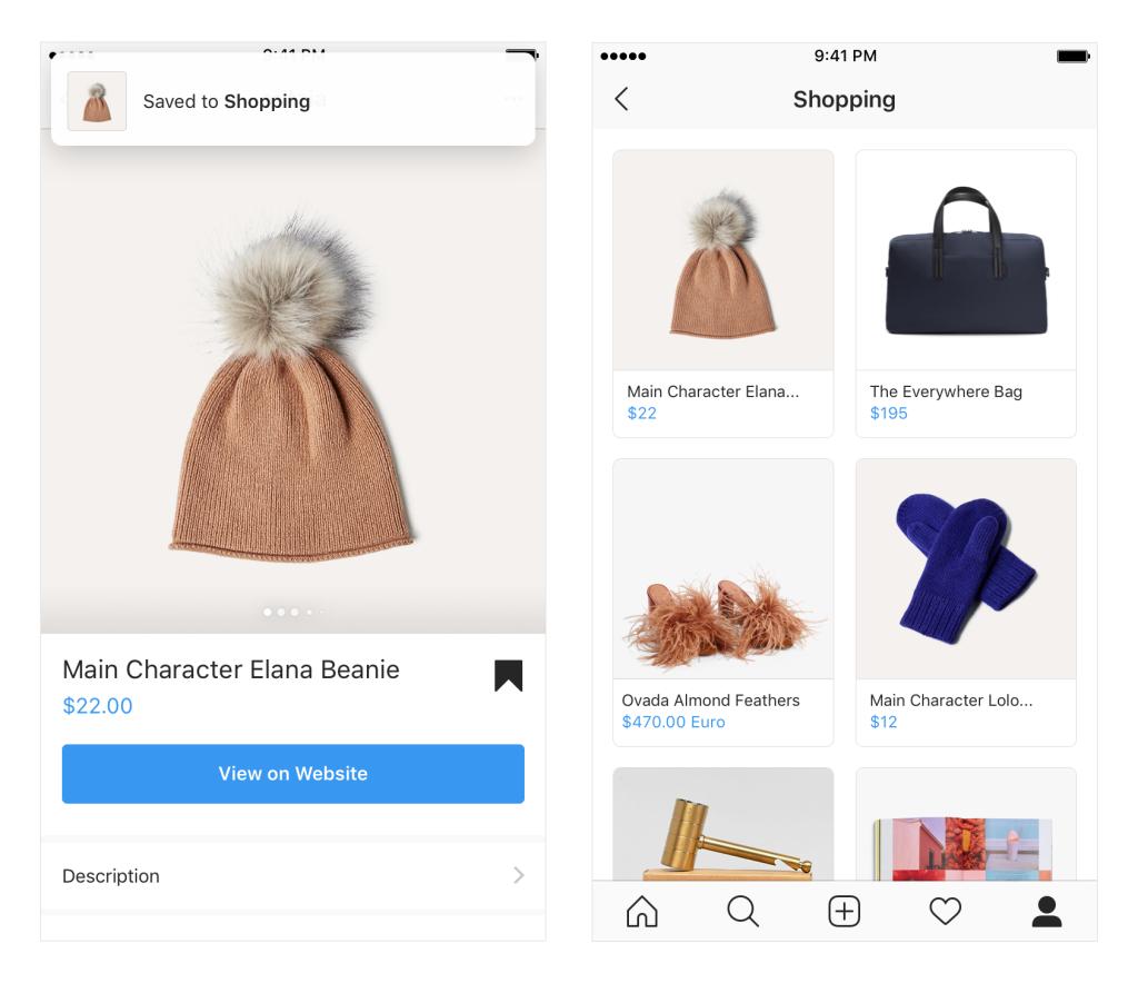 Instagram Updates - Shopping - Sked Social