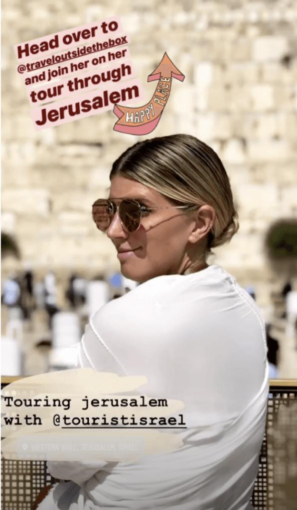 Travel Brands on Instagram - Tourist Israel - Sked Social