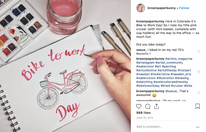 May Social Media Holiday Campaign Ideas - Bike to Work Day - Sked Social