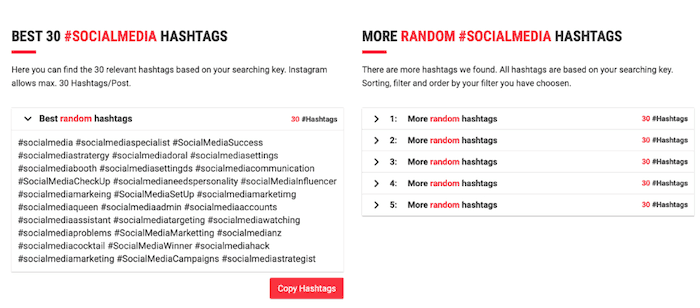 8 Useful Tools to Find the Best Instagram Hashtags for your