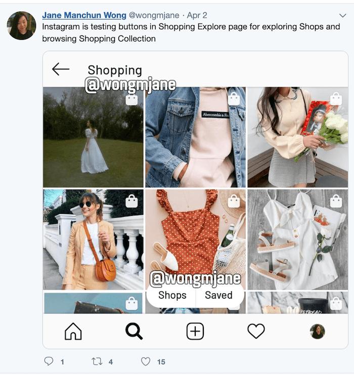 Instagram Shopping Mall - Sked Social