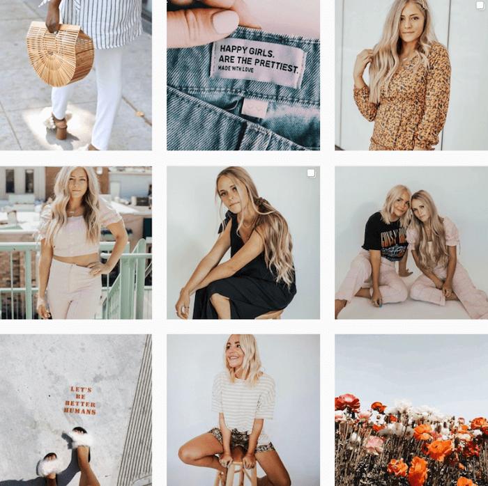 Instagram Themes - Indigo Shop - Sked Social