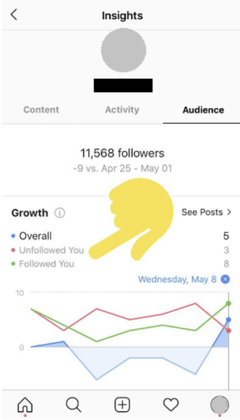 Instagram Creator Account - Insights - Sked Social