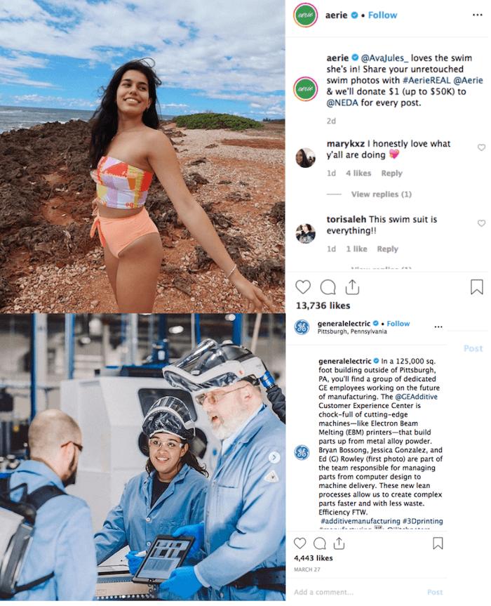 Authentic or Aspirational Brands on Instagram - Sked Social