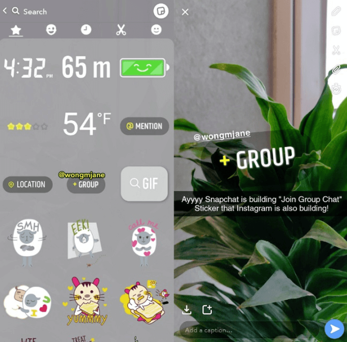 Tech report - group chat - Sked Social