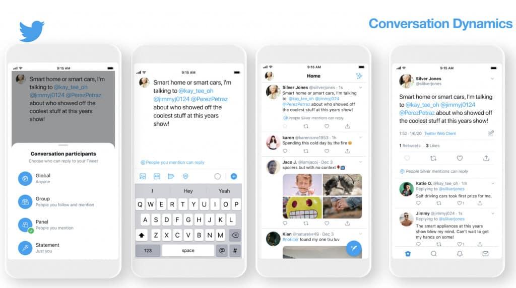 Twitter's new conversation participants feature