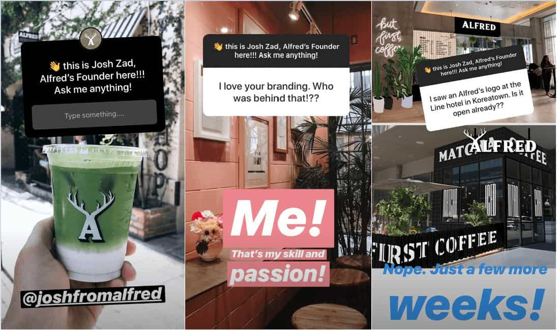 Instagram stickers example 1.