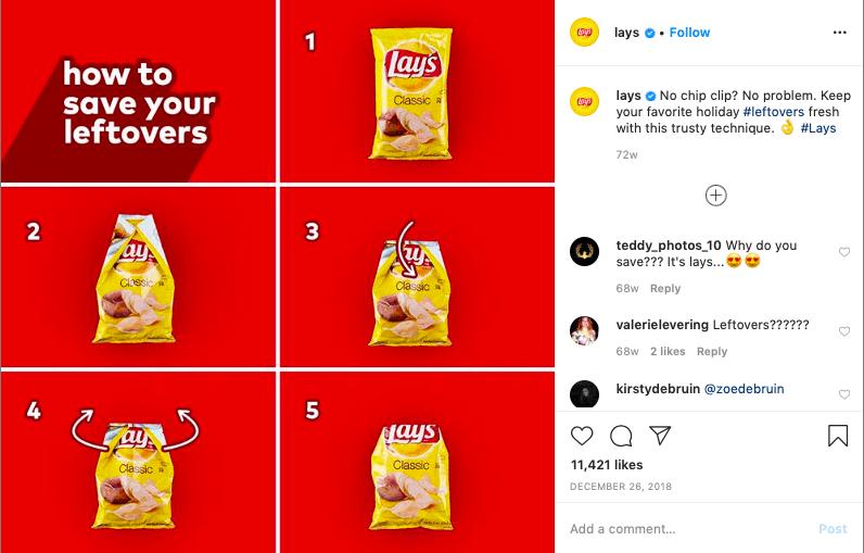 An Instagram collage showing a walkthrough.