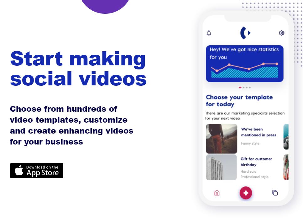 Chant video making app