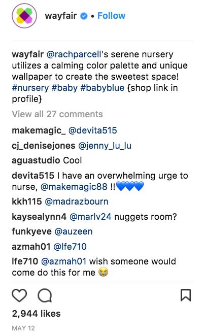 How to Increase Instagram Engagement - Wayfair - Sked Social