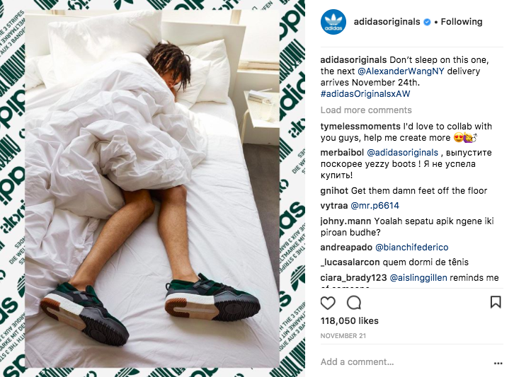 Instagram Post Ideas - Adidas - Sked Social
