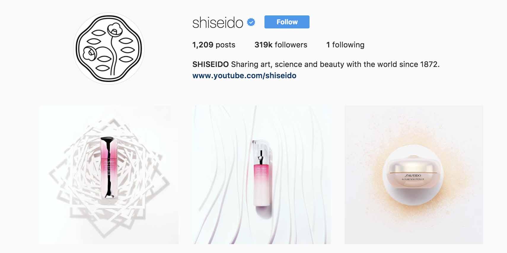 instagram-bio-ideas-shiseido