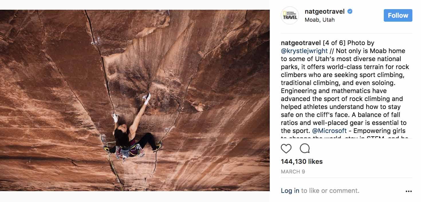 Instagram Marketing 2017 - National Geographic - Sked Social
