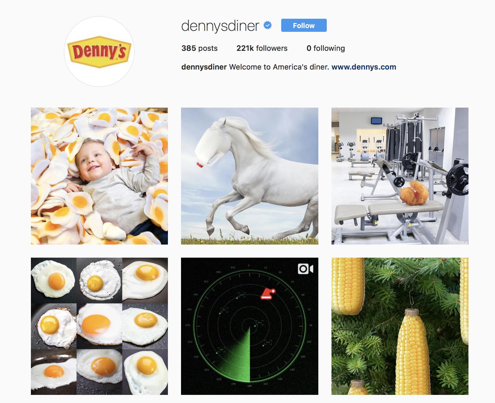 denny-diner-best-brands-on-instagram