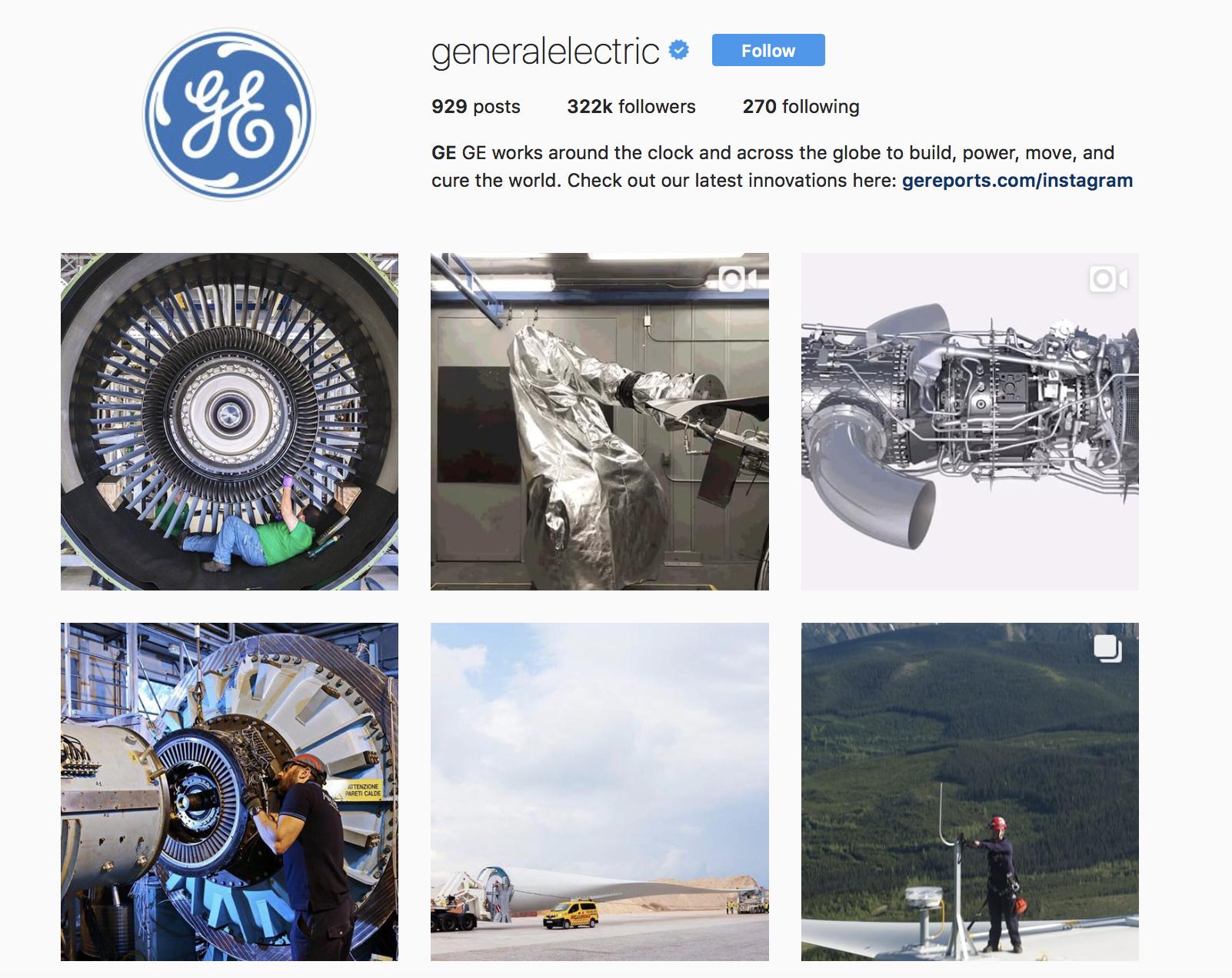 general-electric-best-brands-on-instagram