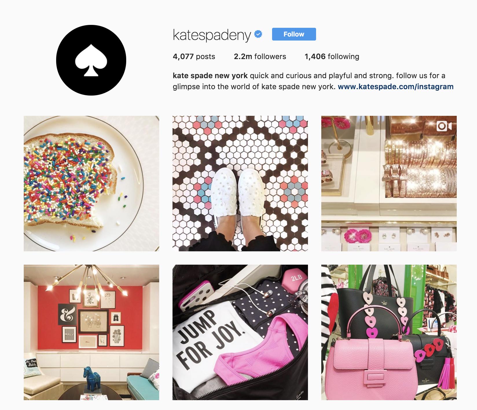 kate-spade-best-brands-on-instagram
