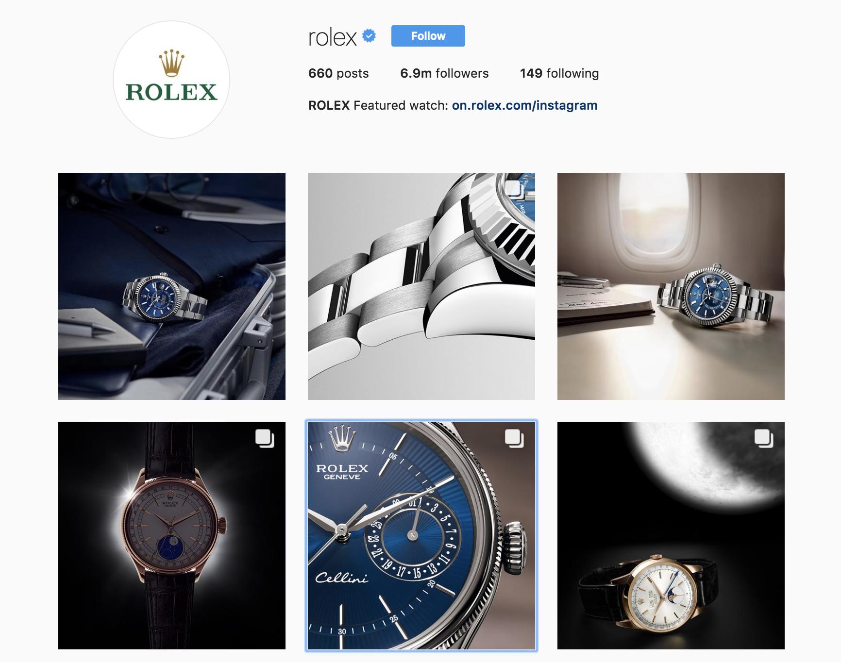 rolex-best-brands-on-instagram