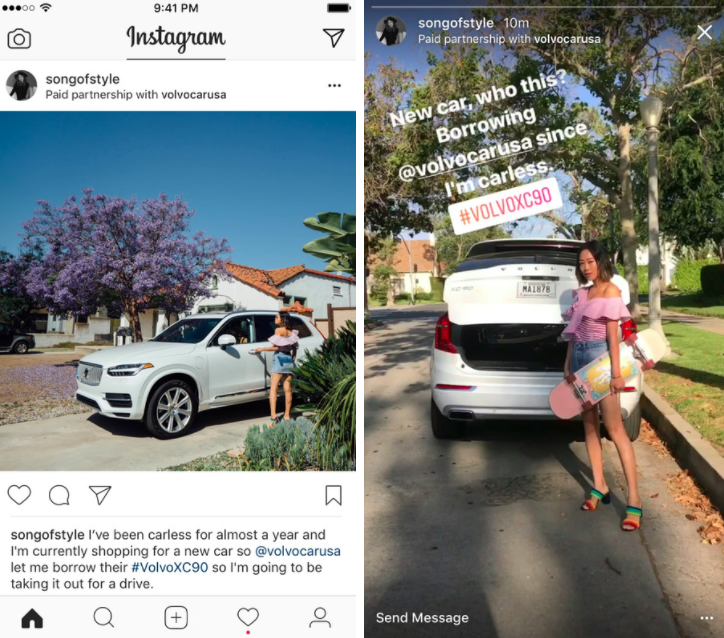 Instagram Sponsored Post - Schedugram