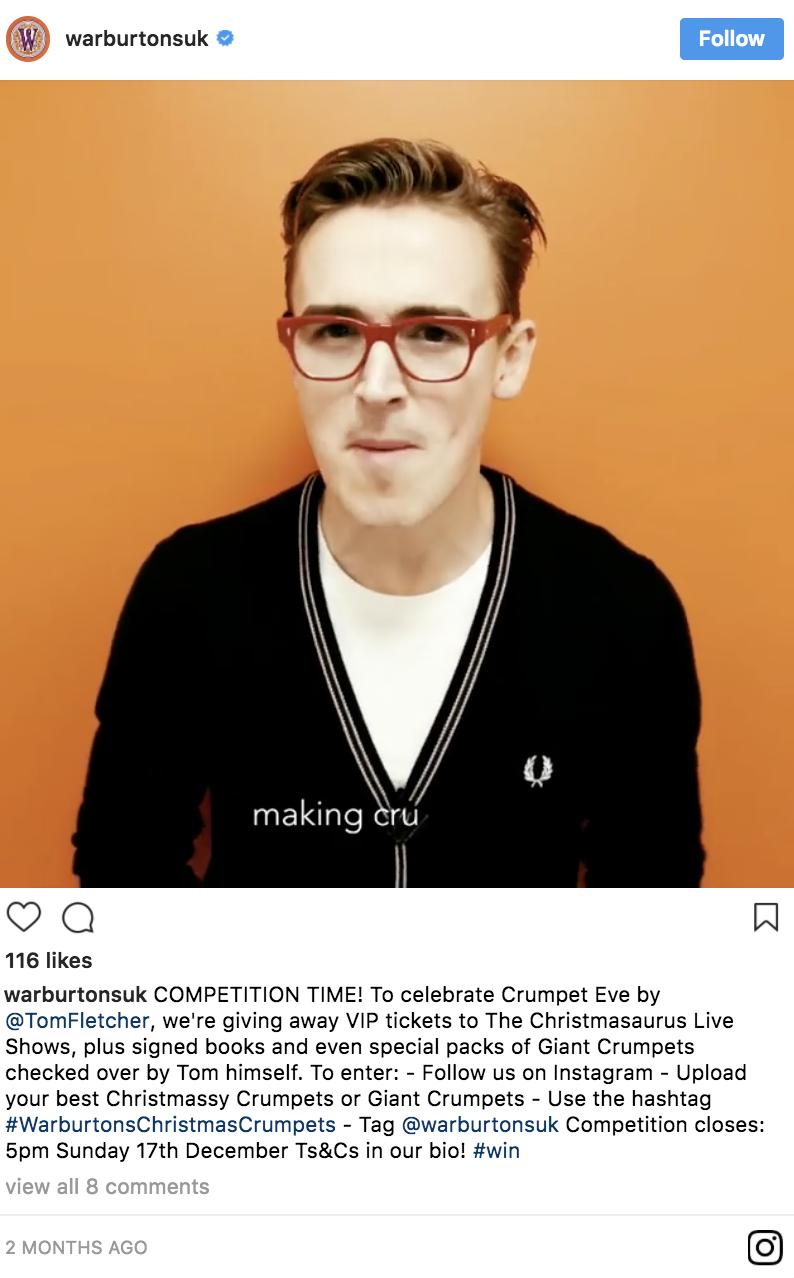 instagram fails Warburton