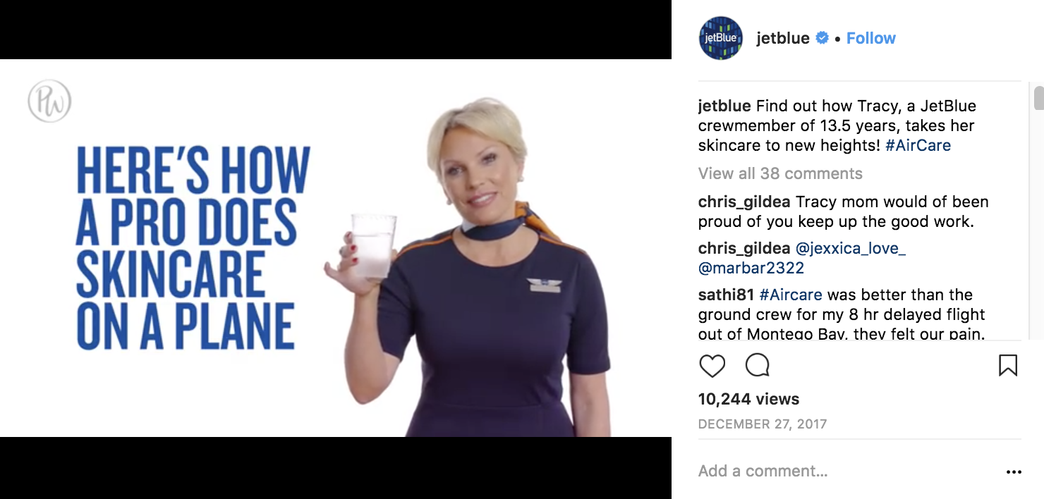 jetblue-instagram-marketing-strategy