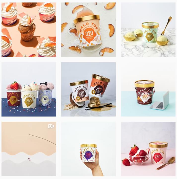 Halo Top Creamery - How Often Should I Post on Instagram - Sked Social
