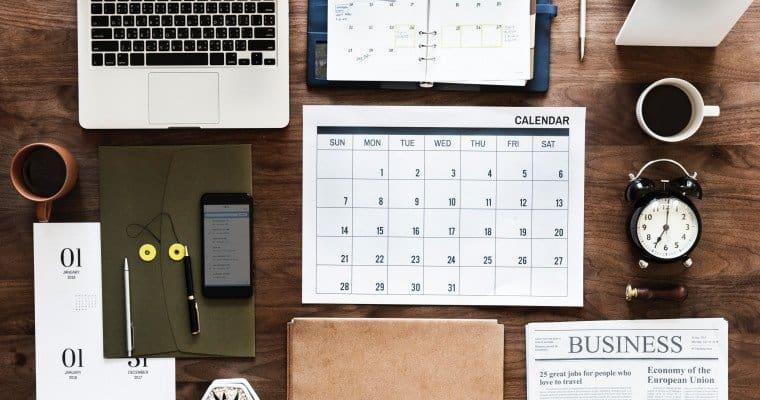 event-calendar-on-desk